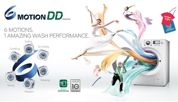 Motion DD Washing Machine one of the best choice for your family