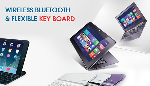 Wireless Bluetooth flexible keyboard fulfills users' expectations on trendy technology usage