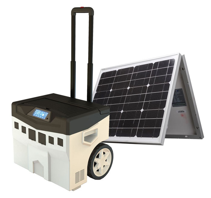 Modern Portable Solar Power System: