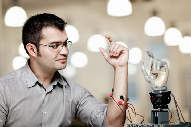 Operated Robotic Hands